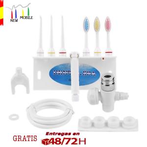 IRRIGADOR-DENTAL-para-GRIFO-Limpieza-de-DIENTES-Higiene-Oral-BUCAL-Portatil