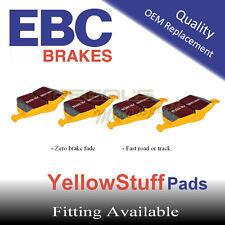 EBC YellowStuff Rear Brake Pads for HONDA Civic 1.6 VTi VTec (EK4), 96-2001