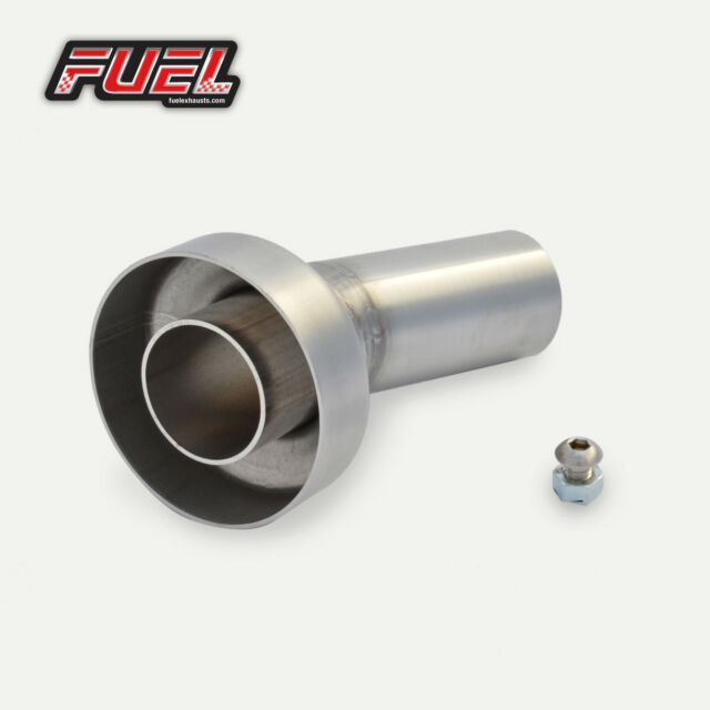 """Baffle DB Killer to fit 2/"""" 51mm Angled Outlet Exhaust Can Silencer Universal"""