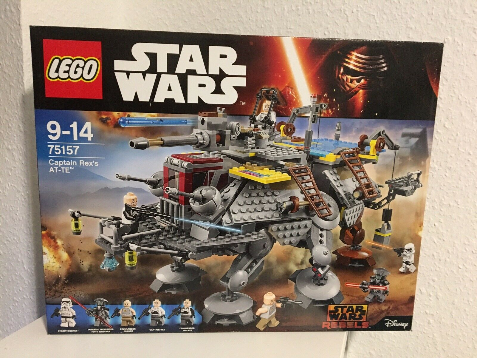 LEGO Star Wars 75157 Neu   OVP Captain Rex's AT-TE