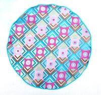Lord R Colton Masterworks Pocket Round Atrani Pink & Jade Silk - $75 Retail on sale