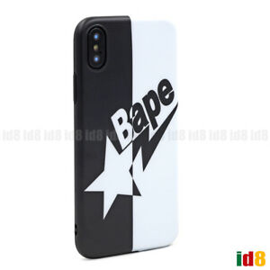 quality design 60aaa fe327 Details about A Bathing Ape BAPE BAPESTA Protective Phone Case For iPhone X  8 7 Plus 6S 6 (US)
