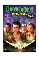 Goosebumps The Movie: The Movie Novel Free Shipping