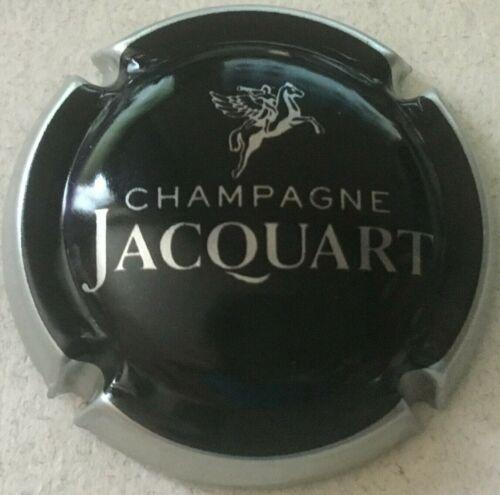 Capsule de champagne JACQUART 29a. noir contour métal