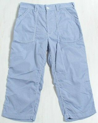 Brand new ! COMME des GARCONS HOMME Puckering blue check pants(C-63)