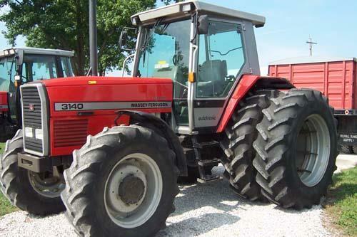 Massey Ferguson 3100 tractores de la serie Manuales De Taller
