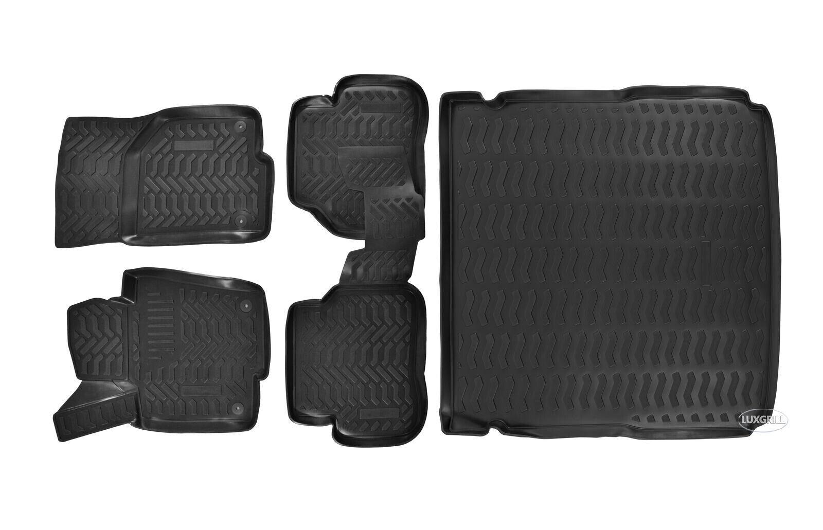 Kofferraumwanne Antirutsch passend für Suzuki Celerio Fliessheck Ab 2015