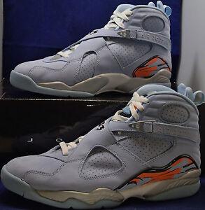 huge discount 58c0c 5baea Image is loading Womens-Nike-Air-Jordan-8-VIII-Retro-Ice-