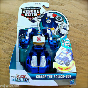 Transformers rescue bots chase rescan police bot suv new - Playskool helmet heroes police officer ...