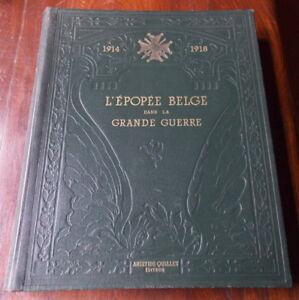 LA-GRANDE-GUERRE-L-039-EPOPEE-BELGE-ARISTIDE-QUILLET
