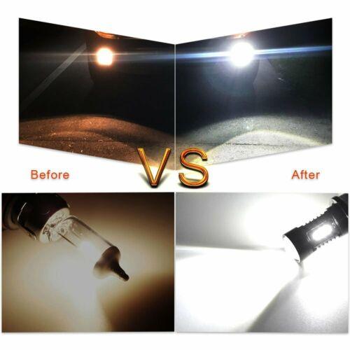 FOR 07-18 YAMAHA GRIZZLY 300 550 700 HIGH POWER 80W HEADLIGHT LED LIGHT BULBS