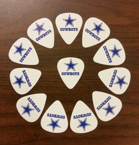 12 picks Dallas Cowboys Guitar Picks