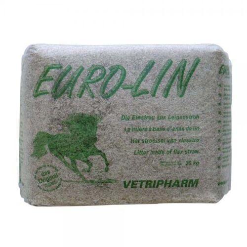 Lein Einstreu Eurolin 20kg Leinenstroh Leinstroh von Vetripharm 0,95€//1kg