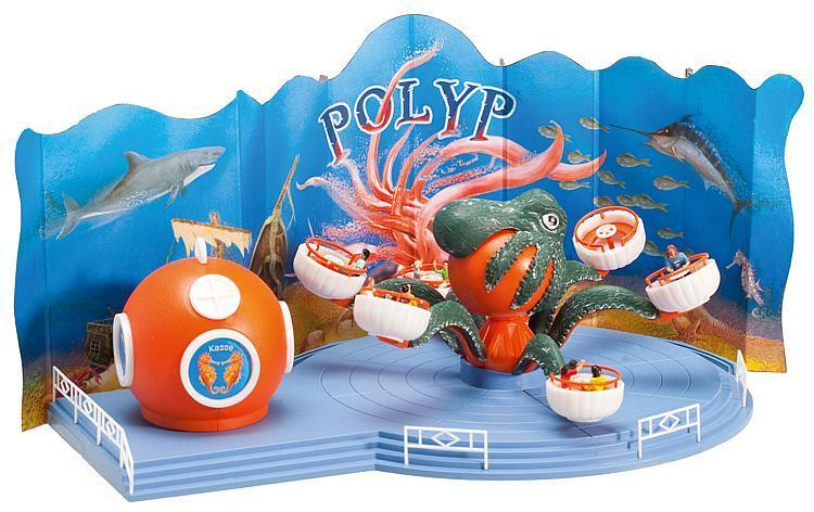 Faller 140341 Juego de Parque de Atracciones  Polyp Zylinderwerfen Mais-Mann