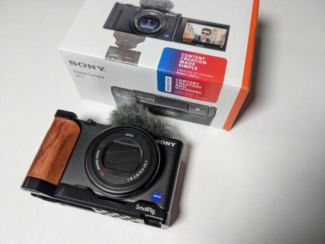 Sony ZV-1 Caméra pour créateurs de contenu et vloggers Avec L Support