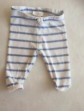Baby Girls Clothes - Cute Newborn Next  Blue Stripped Leggings Trousers