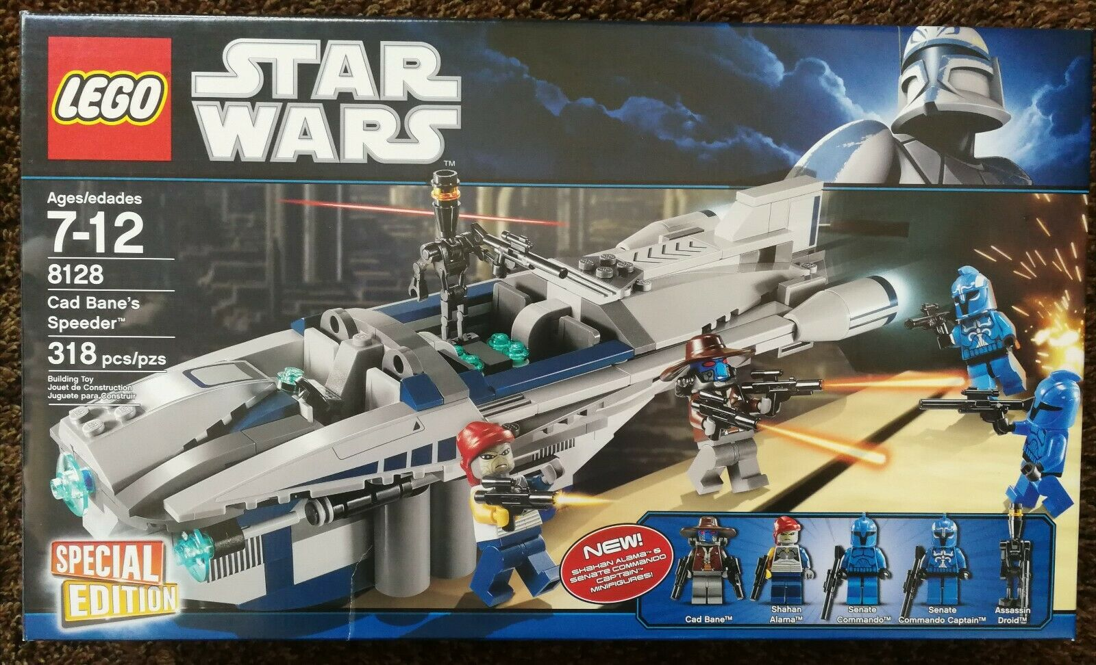 LEGO 8036 Star Wars Seperatist Shuttle; Brand New /& Sealed 100/% TO CHARITY
