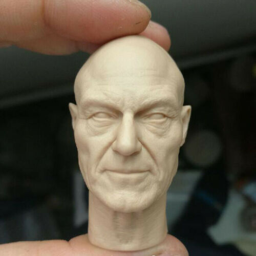 Mutant X-Men X Professor Head Sculpt Unpainted Blank Hot 1//6 Scale Dr