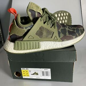 e3aea0d36 Adidas NMD XR1 Duck Camo Olive Green Mens US Size 10 ONLY WORN A Few ...