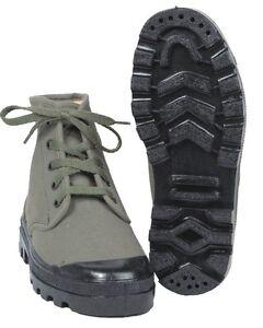 Franzoesische-Commando-Schuhe-Canvas-oliv