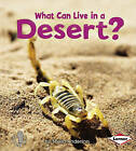What Can Live in a Desert? by Sheila Anderson (Paperback / softback, 2010)