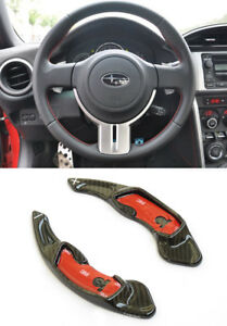 Details about Pinalloy Real Carbon Fiber Paddle Shifter Extension Subaru  WRX Legacy Outback XV