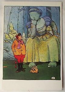 Carte postale MOEBIUS ZED LASERGRAPHICS    postcard