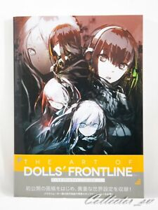 3-7-Days-The-Art-of-Girls-039-Frontline-Vol-1-Illustration-Book-from-JP
