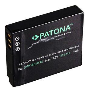 Patona-Akku-Panasonic-Lumix-DMC-TZ41-DMC-TZ58-DMC-TZ61-DMC-TZ71-DMW-BCM13-E
