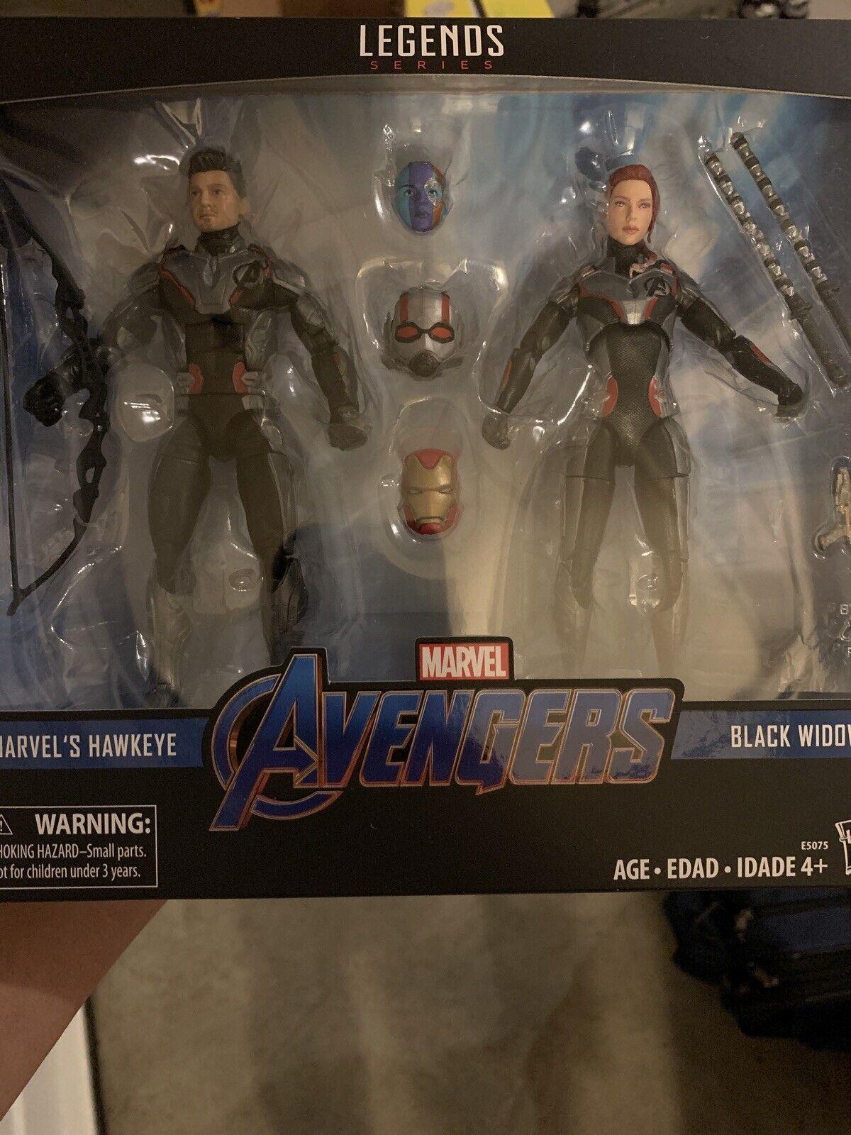 Marvel Legends Avengers Endgame 2 Pack Target Black Widow Hawkeye Iron Ant Man