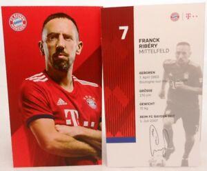 Franck-Ribery-Autogrammkarte-2018-2019-FC-Bayern-Muenchen-AK201943