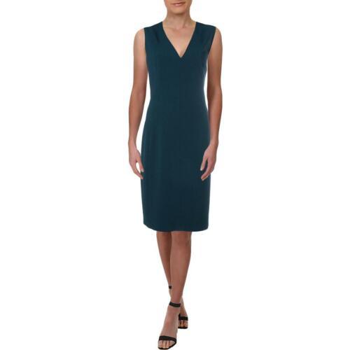 Elie Tahari Womens Roanna Sleeveless V-Neck Wear to Work Dress BHFO 2205