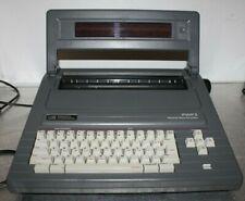 Smith Corona Portable Personal Word Processor Amp Typewriter Pwp 3 5d Amp Manual