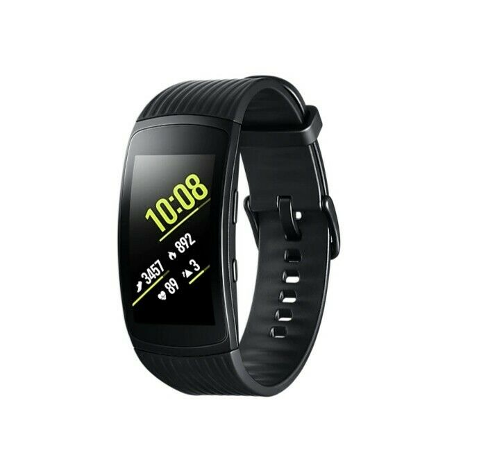 Samsung Gear Fit 2 Pro Smart watch with Charging Dock - Black
