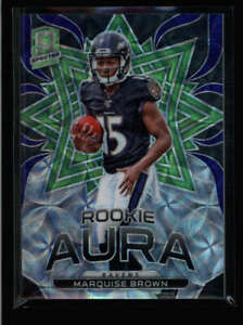 MARQUISE-BROWN-2019-PANINI-SPECTRA-RA-11-ROOKIE-AURA-SCOPE-PRIZM-12-30-AY3522