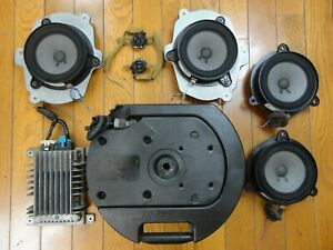 Bose-8-Piece-Car-Sound-System-Powered-Speakers-Nissan-Murano-03-07