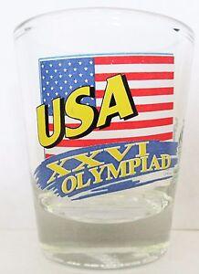 USA-XXVI-OLYMPIAD-SHORT-SHOT-GLASS