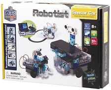 ARTEC EDUCATIONAL ROBOTIST 153141 PROGRAMMABLE SENSOR CAR KIT w/STUDUINO-AGES 8+
