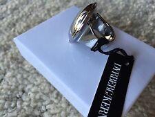 DYRBERG KERN DENMARK Gloria SILVER RING Size 5.5 $120