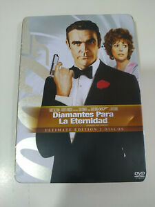 007-James-Bond-Diamantes-para-la-Eternidad-Steelbook-2-DVD-Espanol-Ingles