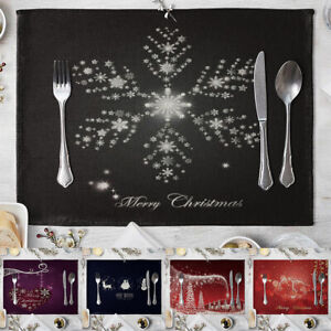 KE-FP-Cute-Christmas-Dining-Table-Heat-Insulation-Mat-Placemat-Kitchen-Home