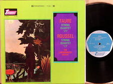 TURNABOUT Faure Roussel LOEWENGUTH QUARTET String Quartets TV-34014-S