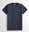 Hollister-homme-a-encolure-ras-du-cou-a-manches-courtes-Muscle-must-have-Courbe-Tee-Logo-T-Shirt miniature 13