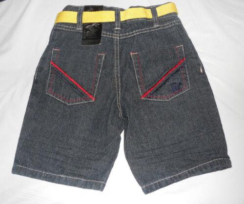 Beverly Hills Polo Club Boys  Jean Shorts W//Belt Sizes-4,5,or 6 NWT