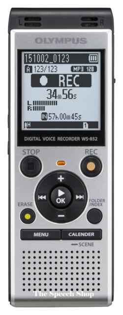 Olympus WS-852 4GB Digital Voice Recorder ***Replaces Olympus WS-832***