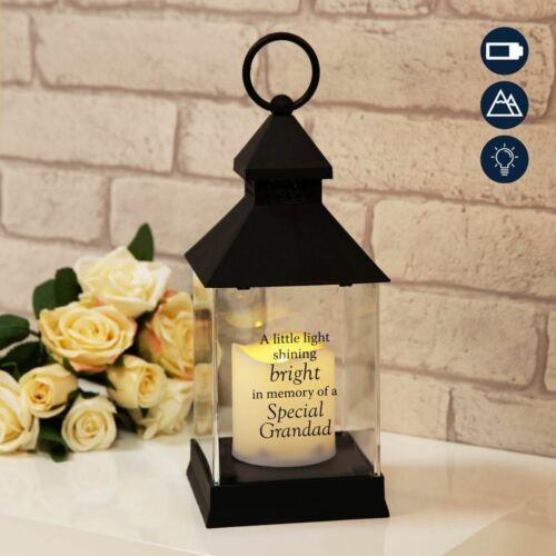 Grandad Thoughts of You Graveside Memorial Lantern