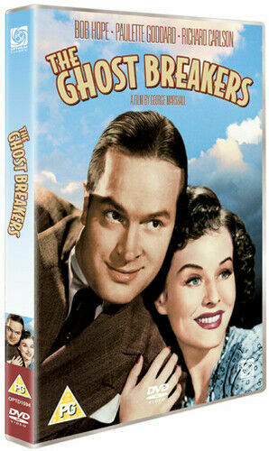 THE GHOST BREAKERS DVD BOB HOPE PAULETTE GODDARD RICHARD CARLSON