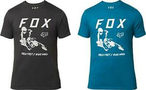 Fox-Racing-Hold-Fast-Premium-T-Shirt-Short-Sleeve-Tee-Mens-Motocross-MX-MTB