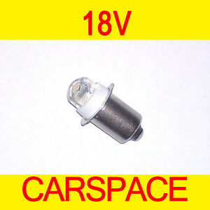 Led Torch Work Light Bulb 18v For Bosch Makita Aeg Dewalt