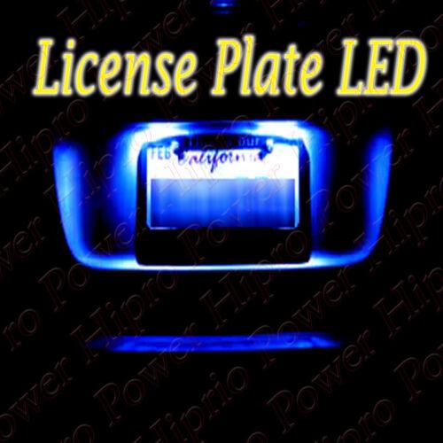 BLUE LED LICENSE PLATE LIGHT BULB FOR DODGE CHALLENGER DURANGO NEON CHARGER